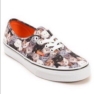 Vans X ASPCA Cats Low Top Lace Up Sneakers 8